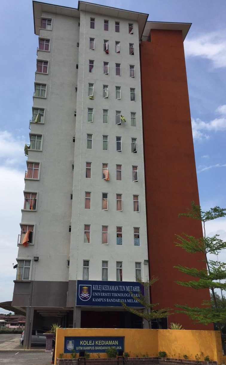 Hostel for University Technology, Mara Melaka
