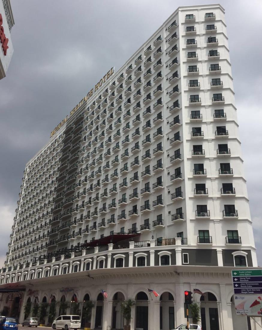 Multi Storey Hotel Buildin, Imperial Heritage Hotel Melaka, Raya Melaka